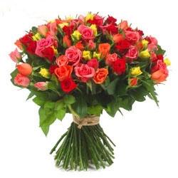 50 Mix Rose   Bouquet