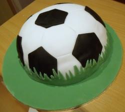 Football Shape Cake  2 Kg