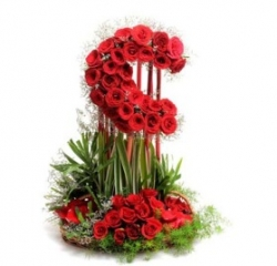 Romantic Flower Arrangement
