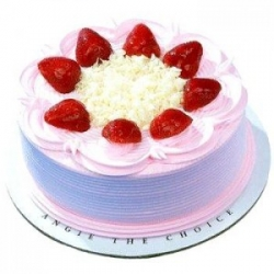 Five Star Strawberry Cake- 1 Kg