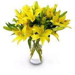 Yellow Lilies For Mother