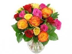 Mix Color Rose Bunch