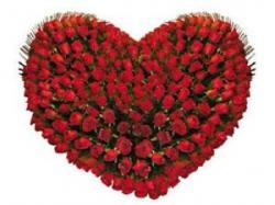 Heart Shape Rose Arrangment