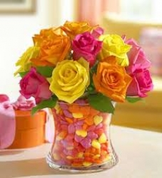 Mix Color Rose Bunch