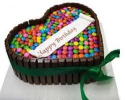Heart Shape Kit Kat Cake -1 Kg