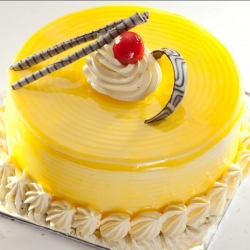 Mango Cream Cake  500 Grams