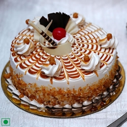 Sugarless Butterscotch Cake 500 Grams