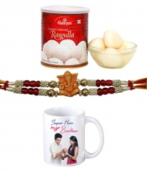 Personalized Rakhi Combo