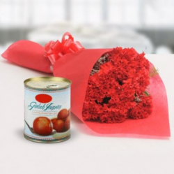 Red Carnations Gulab Jamun