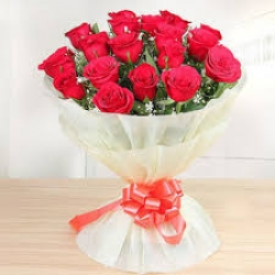 75 Red Roses Bunch