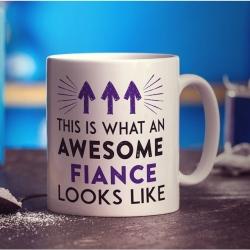 Photo Printed Mug For Fiance