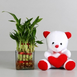 Girlfriend Happy Teddy Day