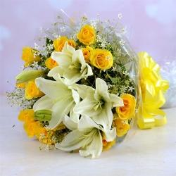 Boss Day Flower Bouquet
