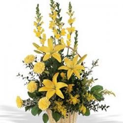 Flower Arrangement For Best Father