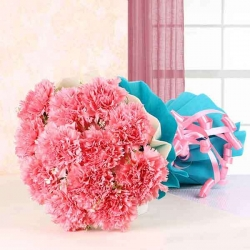 Pink Flower Bunch For Her