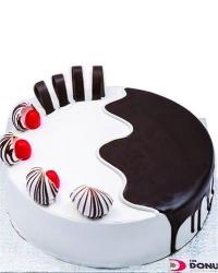 Choco Vanilla Cake - 500 Grams