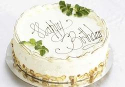 Vanilla Cake - 1/2 Kg Or 1 Pound