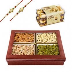 Rakhi Dry Fruits And Chocolate