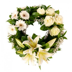 Sympathy Flower Arrangement -3