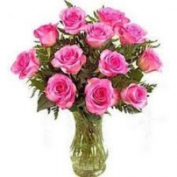 Pink Roses Arrangement For Wife