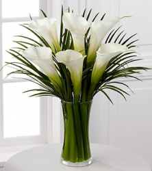 Flower Arrangement Of Calla Lilies