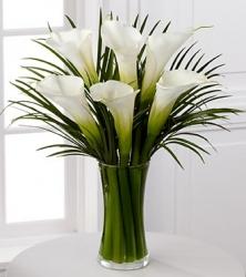 Flower Arrangement Of Calla Lilies