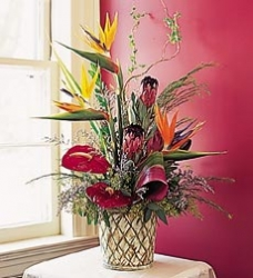 Flower Arrangement Of Bird Of Paradise
