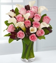 Roses N Calla Lilies