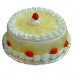 Eggless Pineapple Cake - 2 KG