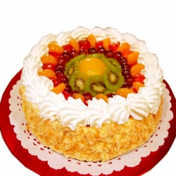 Fresh Fruit Cake-2 Lbs