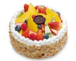 Fresh Fruit Cake 500 Grams