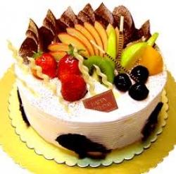 Fresh Fruit Cake 4 Pound