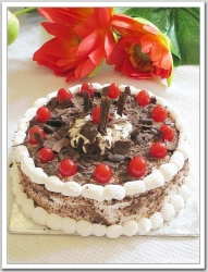 Black Forest Cake- 10 Inches-