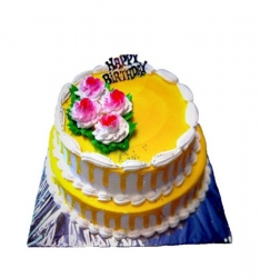 Two Tier Wedding Cake- 3 Kg