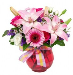 Flower Vase Arrangement -01