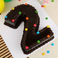 Number Shape Cake  2 KG